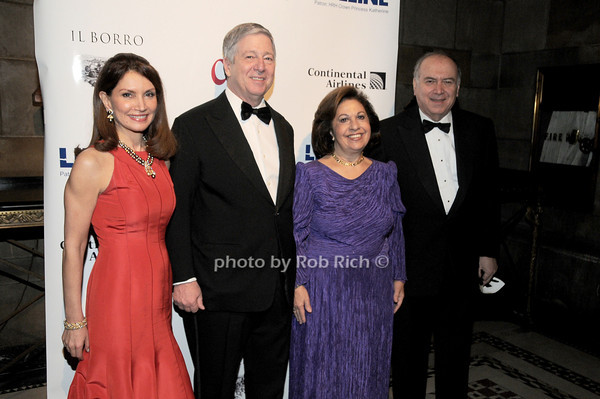 Jean Shafiroff, HRH Crown Prince Alexander II of Serbia, HRH Crown Princess Katherine of Serbia, Martub Shafiroff<br /> photo by Rob Rich © 2010 robwayne1@aol.com 516-676-3939