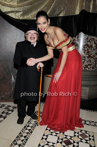 Dr. Ruth Westheimer , Former Miss Universe 2008 Dayana Mendoza  photo  by Rob Rich © 2010 robwayne1@aol.com   516-676-3939