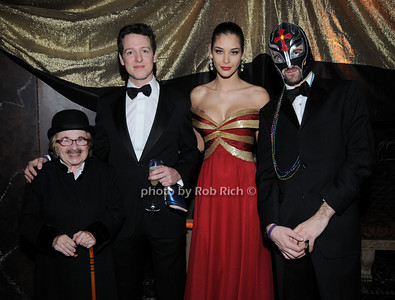 Dr. Ruth Westheimer , HRH Prince Philip of Serbia,  Miss Universe 2008 Dayana Mendoza, HRH Prince Peterr of Serbia