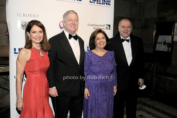 Jean Shafiroff, HRH Crown Prince Alexander II of Serbia, HRH Crown Princess Katherine of Serbia, Martin .Shafiroff<br /> photo by Rob Rich © 2010 robwayne1@aol.com 516-676-3939
