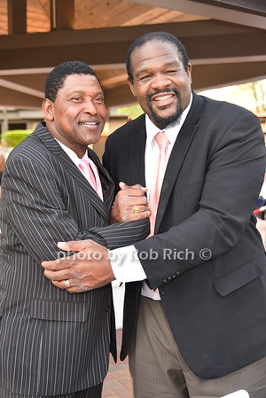 Wesley Walker, Riddick Bowe photo by Rob Rich/SocietyAllure.com © 2016 robwayne1@aol.com 516-676-3939