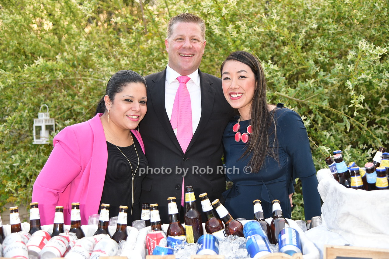 Cindy Reyes, Randy Warren, Christine Ho