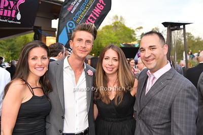 Amy Donnelly, Mark Donnelly, Robin Scarpias, George Scarpias photo by Rob Rich/SocietyAllure.com © 2016 robwayne1@aol.com 516-676-3939