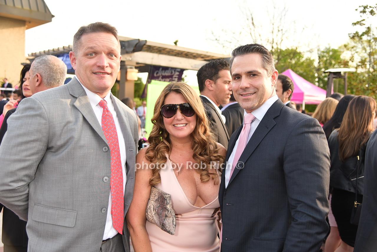 Brian Cassidy, Beth Lowe, Chris Romanophoto by Rob Rich/SocietyAllure.com © 2016 robwayne1@aol.com 516-676-3939