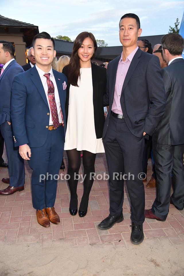 Rick Hu, Hana Lee, Albert Taiphoto by Rob Rich/SocietyAllure.com © 2016 robwayne1@aol.com 516-676-3939