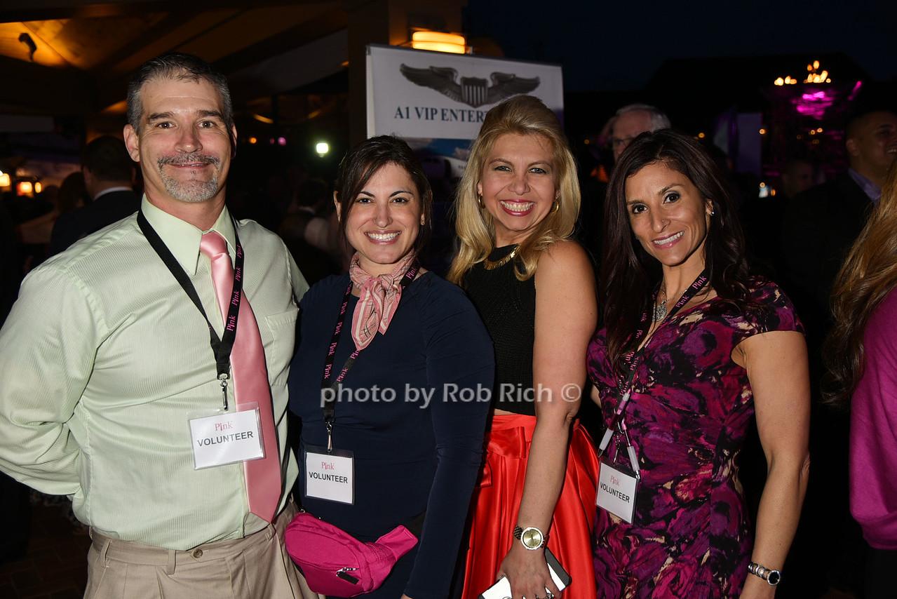 Steven Klch, Rhonda Klch, Alcira Chavez, Geanine Traina photo by Rob Rich/SocietyAllure.com © 2016 robwayne1@aol.com 516-676-3939