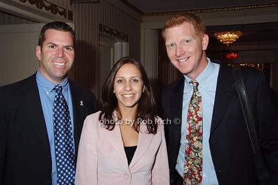 Andy Cohen, Laura Rostock, Joe Buck photo by Rob Rich © 2007 robwayne1@aol.com 516-676-3939