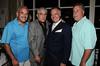 Mikey G, Frank Vincent, Tony Sirico, John Lombardo<br /> photo by Rob Rich © 2010 robwayne1@aol.com 516-676-3939