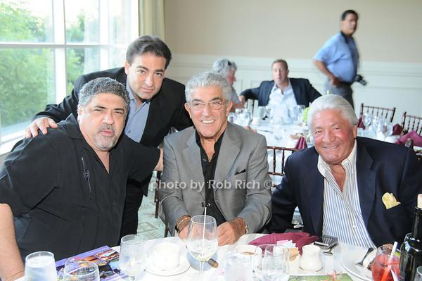 Vincent Pastore, Paul Borghese, Frank Vincent, Dan Conte<br /> photo by Rob Rich © 2010 robwayne1@aol.com 516-676-3939