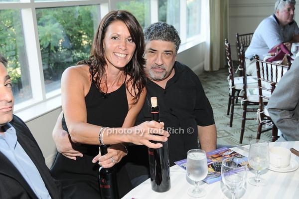 Katrina Adams, Vincent Pastore<br /> photo by Rob Rich © 2010 robwayne1@aol.com 516-676-3939