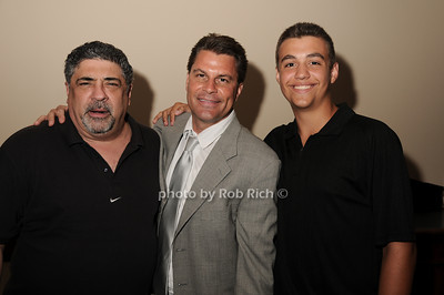 Vincent Pastore, Michael Herbst, Anthony Darrow photo by Rob Rich © 2010 robwayne1@aol.com 516-676-3939