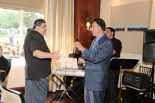 Vincent Pastore, Tony Darrow<br /> photo by Rob Rich © 2010 robwayne1@aol.com 516-676-3939
