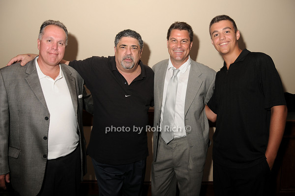 Robert Lubrano, Vincent Pastore, Michael Herbst, Anthony Darrow<br /> photo by Rob Rich © 2010 robwayne1@aol.com 516-676-3939
