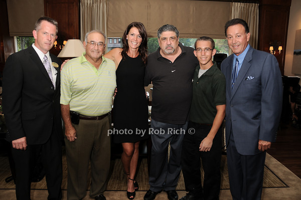 Rich Hartley,,James Pauline, Katrina Adams, Vincent Pastore, Jordan Nast, Tony Darrow<br /> photo by Rob Rich © 2010 robwayne1@aol.com 516-676-3939