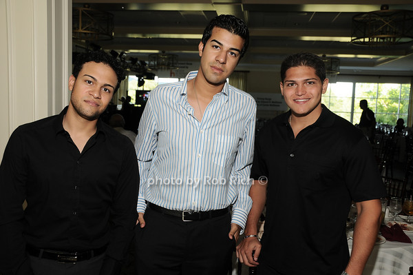 Khaleb Sayed, Sharif Sayed, James Tenaglia<br /> photo by Rob Rich © 2010 robwayne1@aol.com 516-676-3939