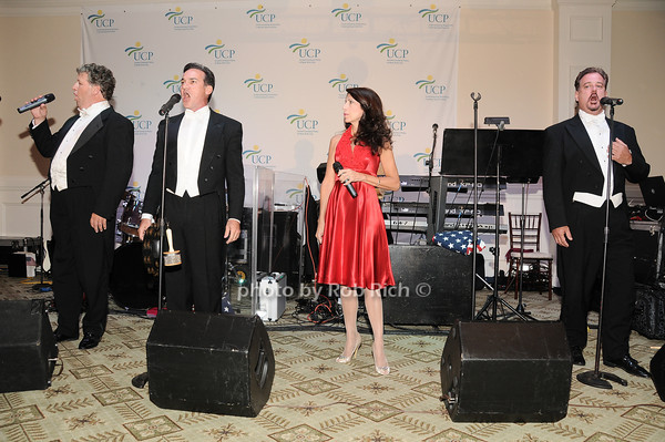 Three Tenors and a Diva<br /> photo by Rob Rich © 2010 robwayne1@aol.com 516-676-3939