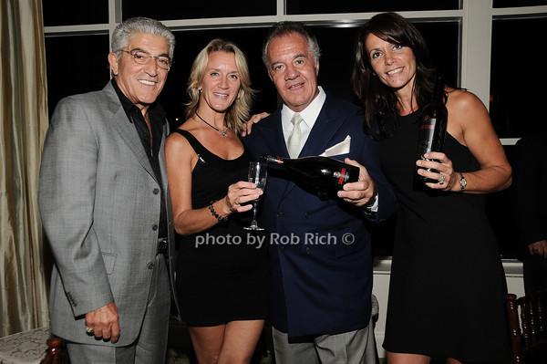 Frank Vincent, guest, Tony Sirico, Katrina Adams<br /> photo by Rob Rich © 2010 robwayne1@aol.com 516-676-3939