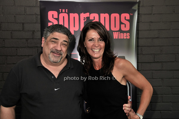 Vincent Pastore, Katrina Adams<br /> photo by Rob Rich © 2010 robwayne1@aol.com 516-676-3939