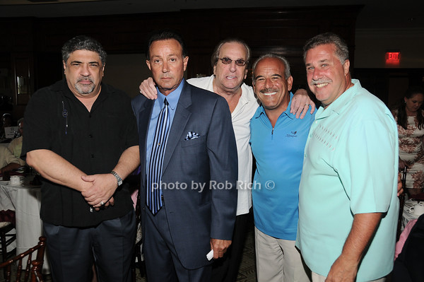 Vincent Pastore, Tony Darrow, Danny Aiello, Mikey G, John  Lombardo<br /> photo by Rob Rich © 2010 robwayne1@aol.com 516-676-3939
