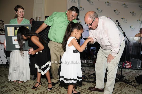 Valarezo Family with Steve Kalafer<br /> photo by Rob Rich © 2010 robwayne1@aol.com 516-676-3939