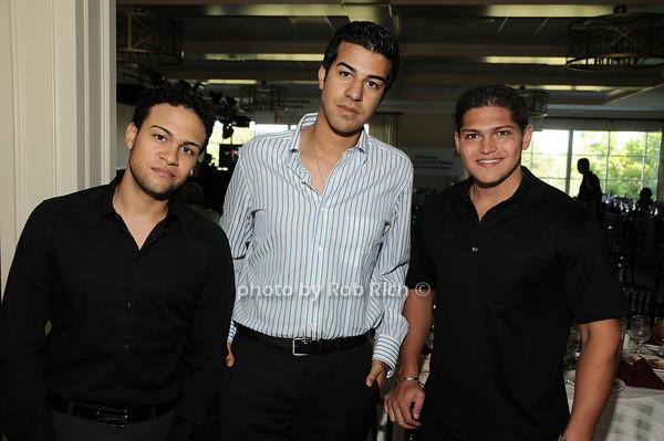 Khaleb Sayed, Sharif Sayed, James Tenaglia<br /> photo by Rob Rich © 2010 robwayne1@aol.com 516-676-3939