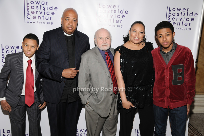 "Russell ""Russy"" Simmons, Reverend Run, Justine Simmons, Daniel ""Diggy"" Simmons<br /> photo by Rob Rich © 2010 robwayne1@aol.com 516-676-3939"