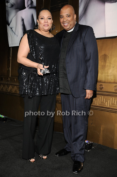 Justine Simmons, Rev Run<br /> photo by Rob Rich © 2010 robwayne1@aol.com 516-676-3939