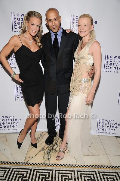 Heidi Albertsen, David Belafonte,Melana Belafonte<br /> photo by Rob Rich © 2010 robwayne1@aol.com 516-676-3939