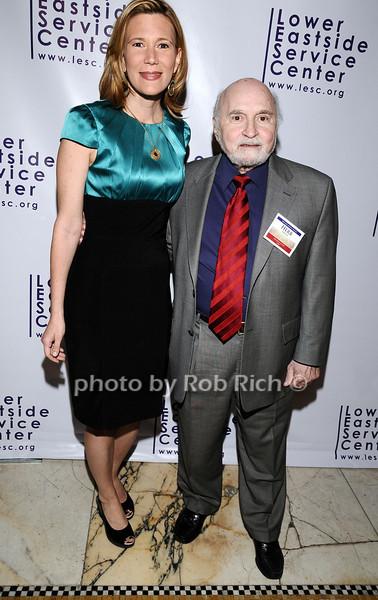 Melissa Russo, Herb Barish<br /> photo by Rob Rich © 2010 robwayne1@aol.com 516-676-3939