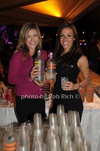 Hannah Pilkington and Katie Werberowski (Absolut vodka) photo by Rob Rich/SocietyAllure.com © 2012 robwayne1@aol.com 516-676-3939