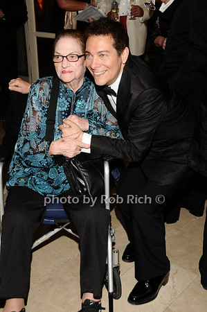 Mrs. Lenzi, Michael Feinstein<br /> photo by Rob Rich © 2010 robwayne1@aol.com 516-676-3939