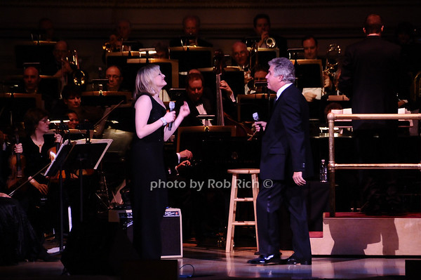 Haley Swindal, Steve Tyrell<br /> photo by Rob Rich © 2010 robwayne1@aol.com 516-676-3939