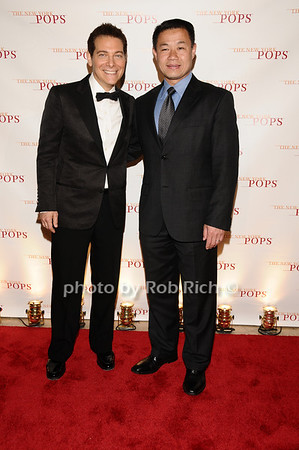 Michael Feinstein, John Liu<br /> photo by Rob Rich © 2010 robwayne1@aol.com 516-676-3939