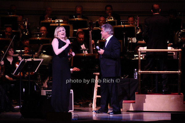 Haley Swindal, Steve Tyrell<br /> photo by Rob Rich © 2010 robwayne1@aol.com 516-676-3939