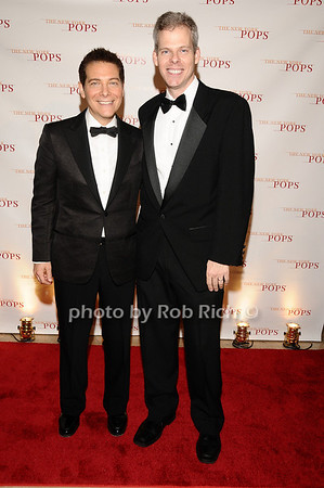 Michael Feinstein, James Johnson<br /> photo by Rob Rich © 2010 robwayne1@aol.com 516-676-3939