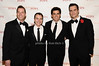 Steve Reineke, Bill Schermerhorn, Tony DeSare, Cheyenne Jackson<br /> photo by Rob Rich © 2010 robwayne1@aol.com 516-676-3939