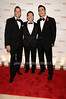 Steve Reineke, Michael Feinstein, Cheyenne Jackson<br /> photo by Rob Rich © 2010 robwayne1@aol.com 516-676-3939