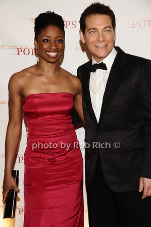 Montego Glover, Michael Feinstein<br /> photo by Rob Rich © 2010 robwayne1@aol.com 516-676-3939