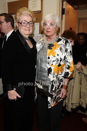 June Freemanson, Ruth Henderson<br /> photo by Rob Rich © 2010 robwayne1@aol.com 516-676-3939