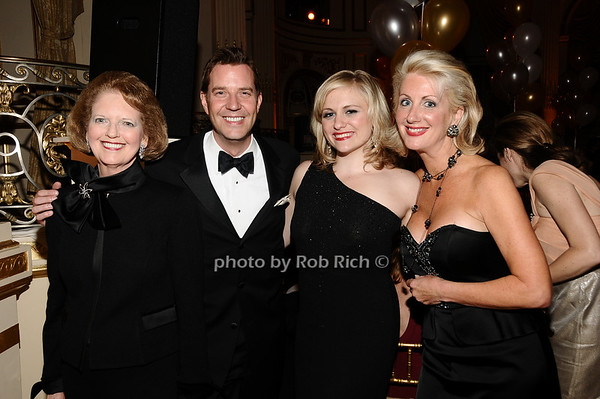 Joan Steinbrenner, Steve Reineke, Haley Swindal, Jennifer Swindal<br /> photo by Rob Rich © 2010 robwayne1@aol.com 516-676-3939