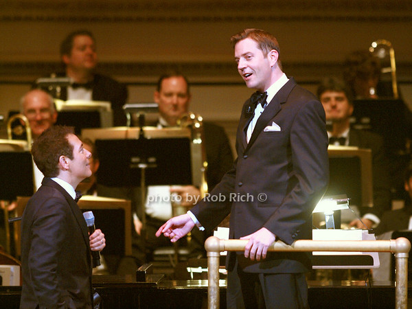 Michael Feinstein, Steve Reineke<br /> <br /> photo by Rob Rich © 2010 robwayne1@aol.com 516-676-3939