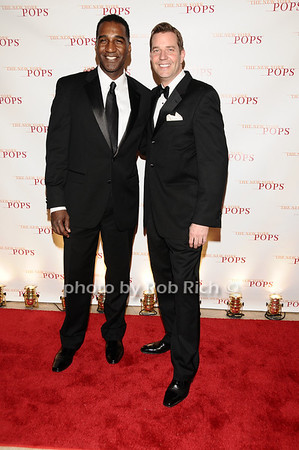 Norm Lewis, Steve Reineke<br /> photo by Rob Rich © 2010 robwayne1@aol.com 516-676-3939
