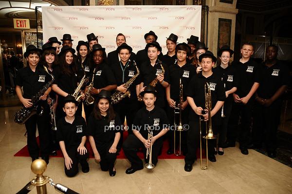 Marine Park IS278 Jazz Band<br /> photo by Rob Rich © 2010 robwayne1@aol.com 516-676-3939