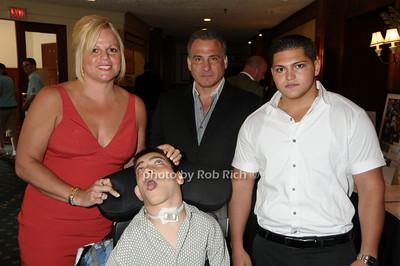 Maryann Tenaglia, Jimmy Tenaglia, James Tenaglia, Matthew Tenaglia photo by Rob Rich © 2009 robwayne1@aol.com 516-676-3939