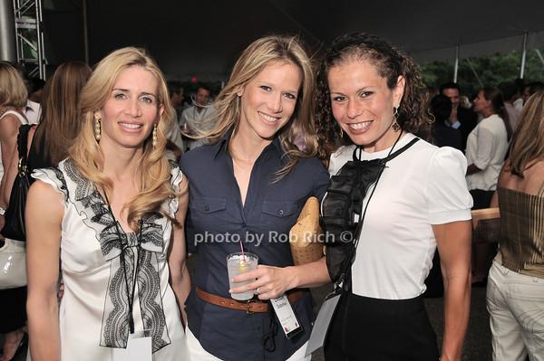 Stacey Bennett, Lindsay Dubofsky, Jackie Gershwin<br /> photo by Rob Rich © 2010 robwayne1@aol.com 516-676-3939