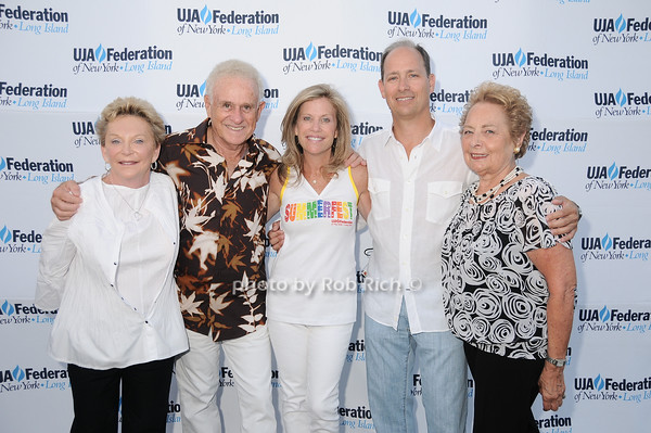 Helen Gruber, Stanley Gruber, Joyce Sharfstein, Ruth Katz<br /> photo by Rob Rich © 2010 robwayne1@aol.com 516-676-3939