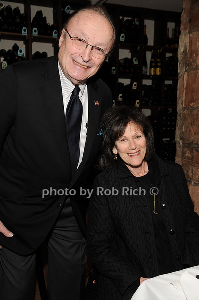 Ken Cohen, Carol Cohen<br /> photo by Rob Rich © 2010 robwayne1@aol.com 516-676-3939
