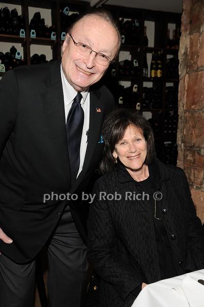 Ken Cohen, Carol Cohen<br /> photo by Rob Rich © 2010 robwayne1@aol.com 516-676-3939