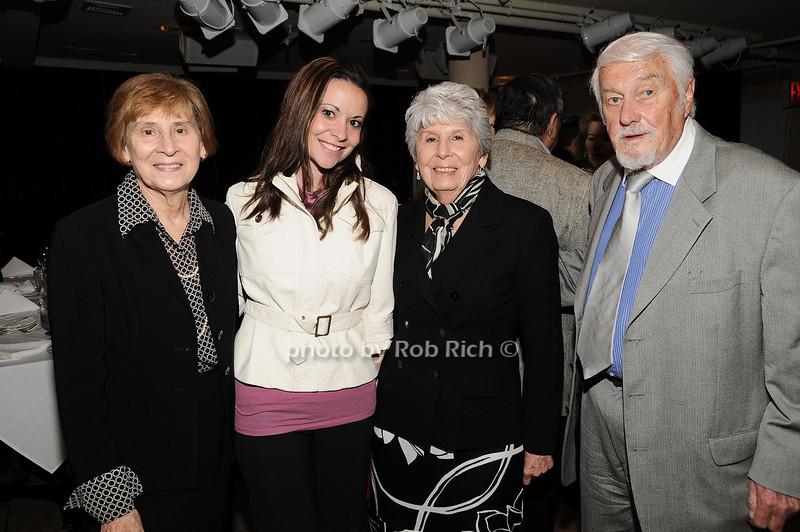 Diane Earl, Heather Makrez, Rose Mary Bliss, Jack Bliss<br /> photo by Rob Rich © 2010 robwayne1@aol.com 516-676-3939