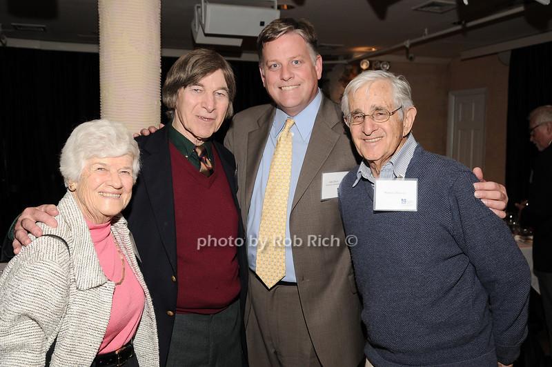 Ilse Moss, Ed Adler, John Davis, Warren Moss<br /> photo by Rob Rich © 2010 robwayne1@aol.com 516-676-3939